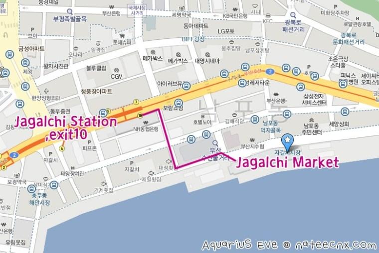 Jagalchi Market Map