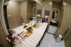 Dressing Room at First Guesthouse, Haeundae, Busan