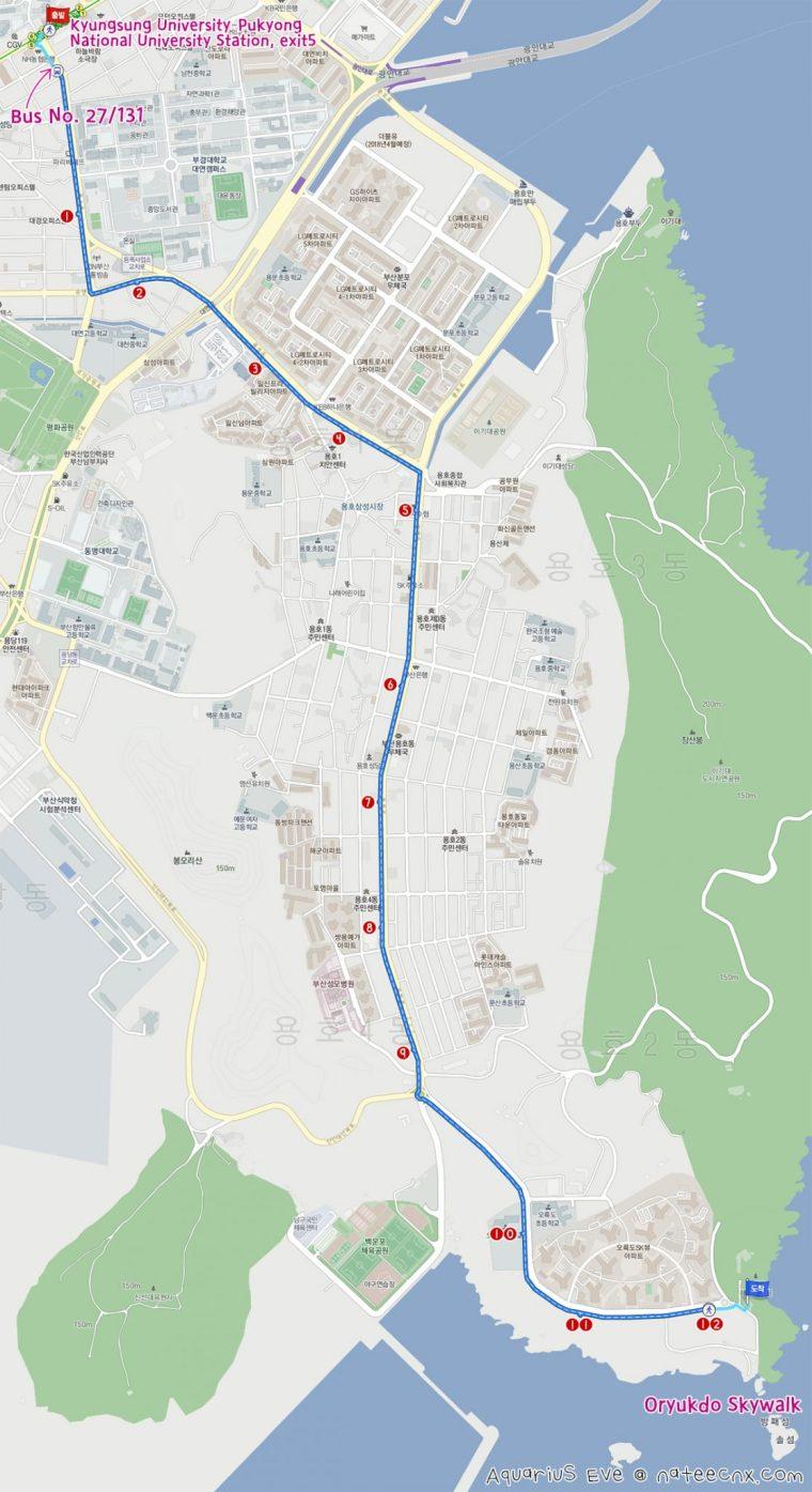 오륙도 스카이워크 | Oryukdo Skywalk Map