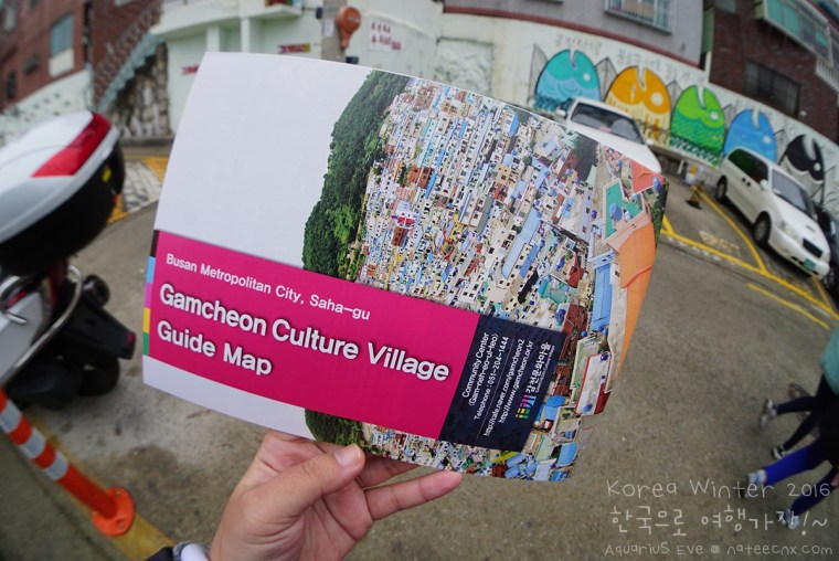 Gamcheon Culture Village Guide Map