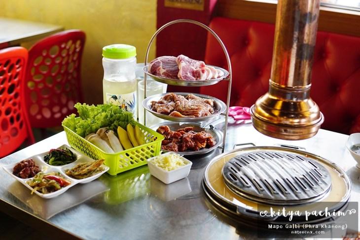 Pork Buffet at Mapo Galbi Phra Khanong