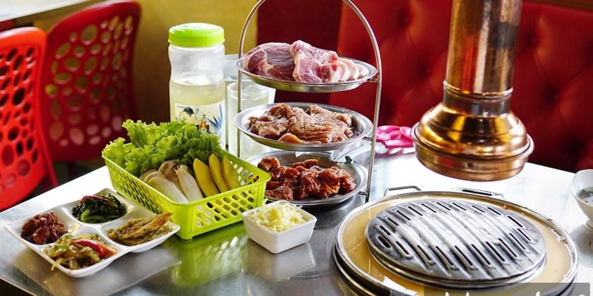 กิตยาพาชิม : รีวิวร้านอาหารเกาหลี Mapo Galbi Korean BBQ Restaurant (มาโพกัลบี) พระโขนง