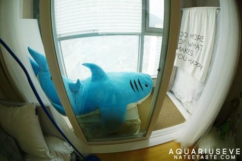 มีพี่ฉลามไว้ให้ถ่ายรูปเล่นด้วย ^^
