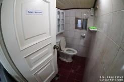 ห้องน้ำ มีอุปกรณ์ครบ สบู่ แชมพู