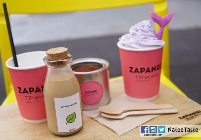 Zapangi (자판기) ซาพันกี : คาเฟ่ตู้กดสีชมพู