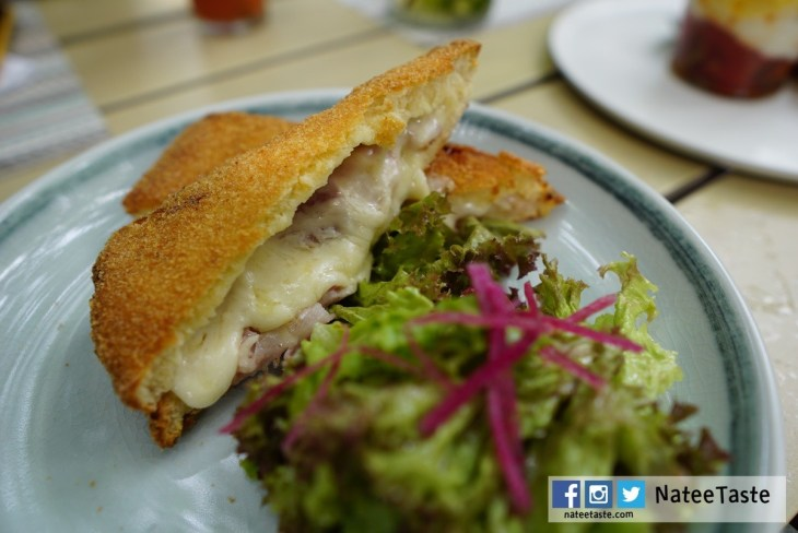 Croque Monsieur: Gruyere, Bechamel, Paris Ham