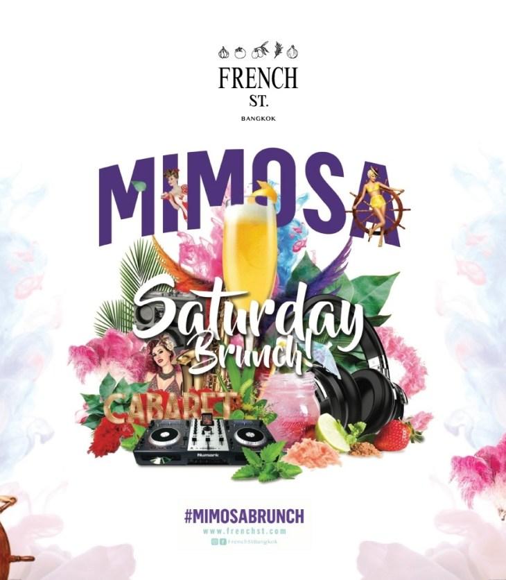 "French St. ""เฟรนช์ สตรีท"" - Mimosa Saturday Brunch"