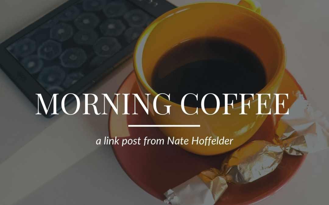 Monday Morning Coffee – 14 June 2021