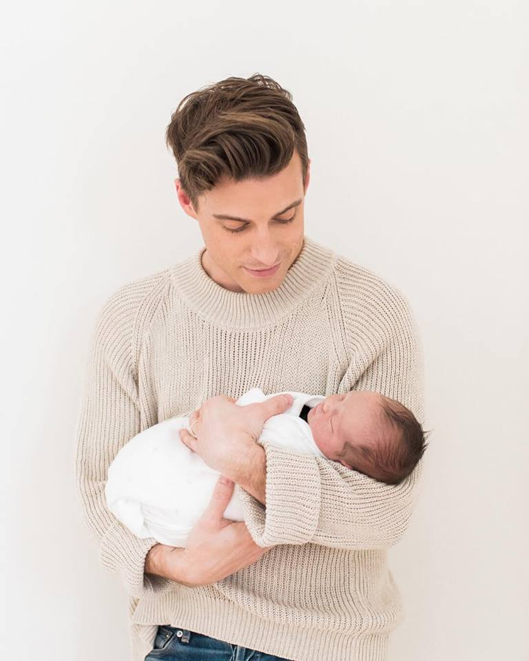 jeremiah brent with nate berkus son