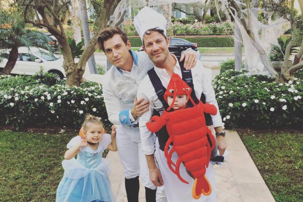 Nate Berkus and Jeremiah Brent Halloween