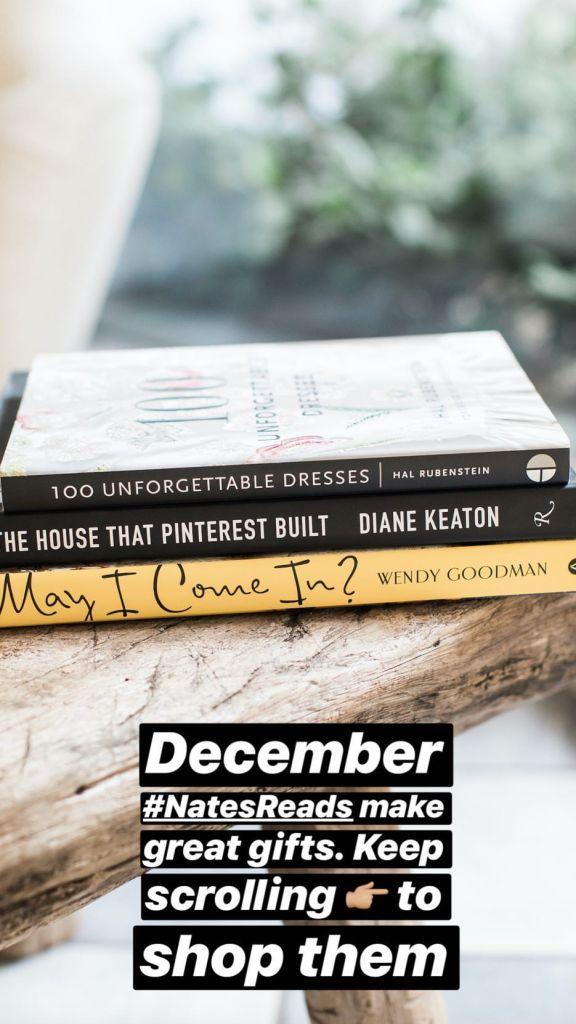 Nate Berkus Instagram December Collection