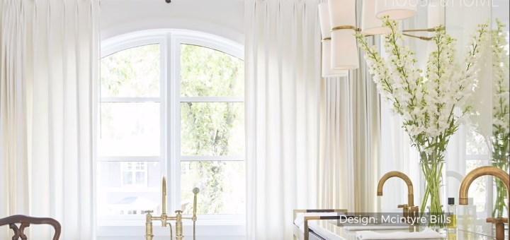 arched window treatments
