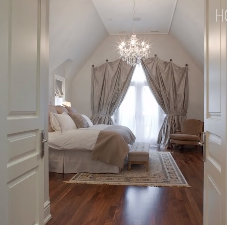 arched window treatments design