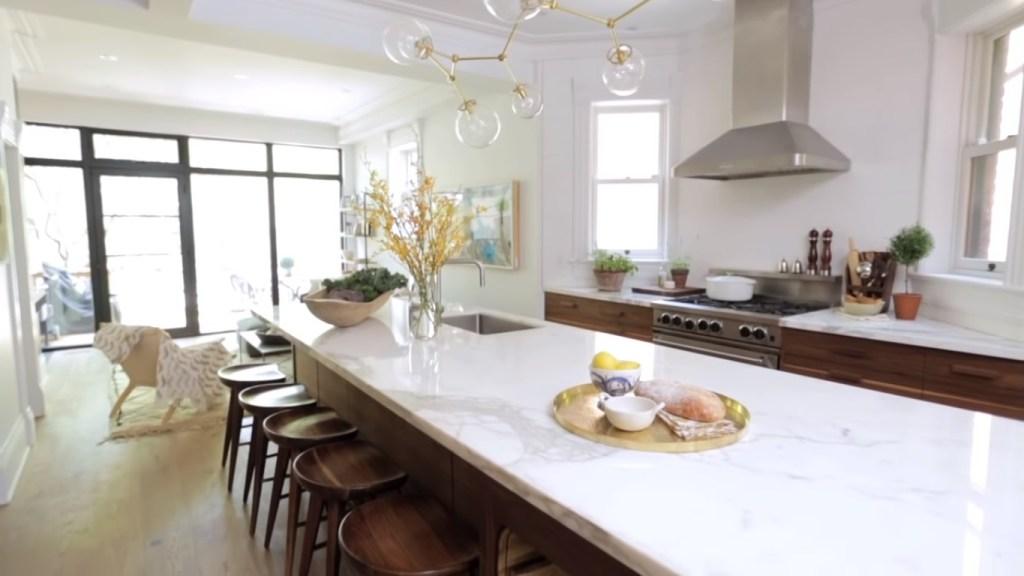 vintage kitchen decor island