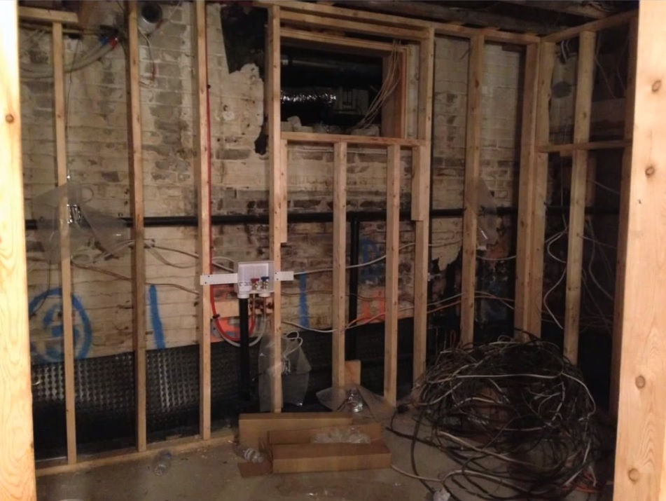 Laundry Room Remodel basement
