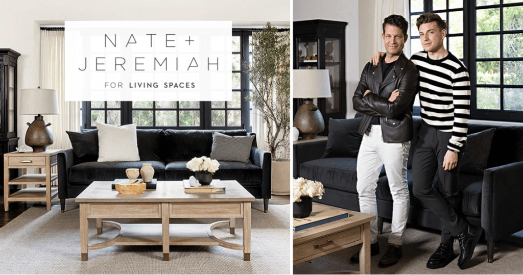 Nate and Jeremiah Living Spaces