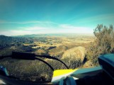 The view from the top, looking down at the Temecula valley.