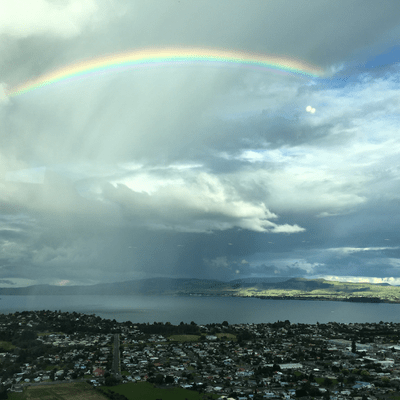 Rainbow over Rotorua – A Tribute to Billy Graham