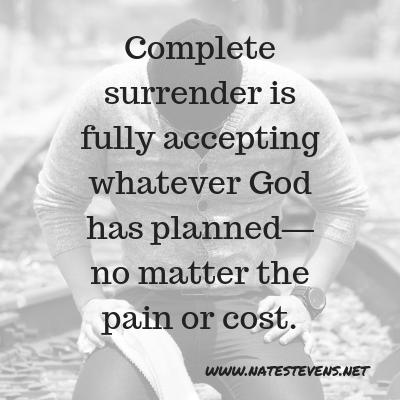 Four Foundational Words of Spiritual Surrender