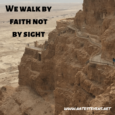 Walking by Faith Eliminates Personal Expectations