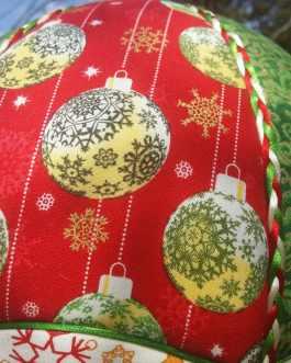 Montgolfière Boules de Noël