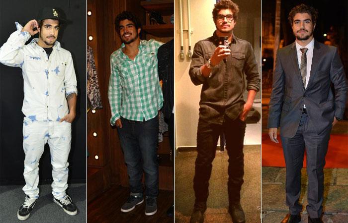 4 tipos de meninos (looks) : despojados , discretos, rocker e desencanados . (2/6)
