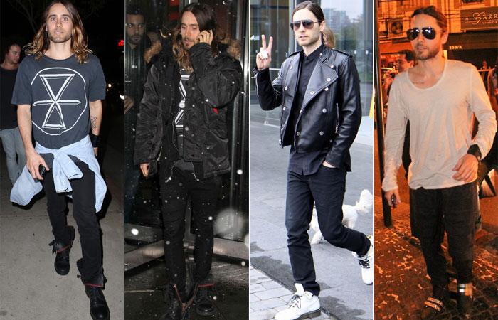 4 tipos de meninos (looks) : despojados , discretos, rocker e desencanados . (5/6)