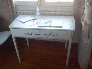 ma table d'écrivain