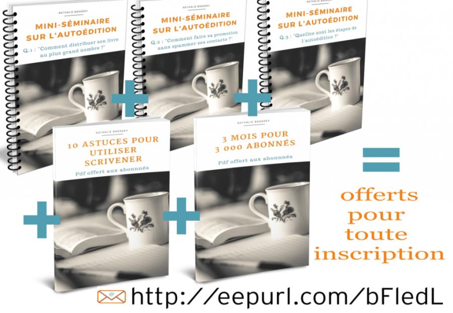 package pdfs inscription newsletter autoédition