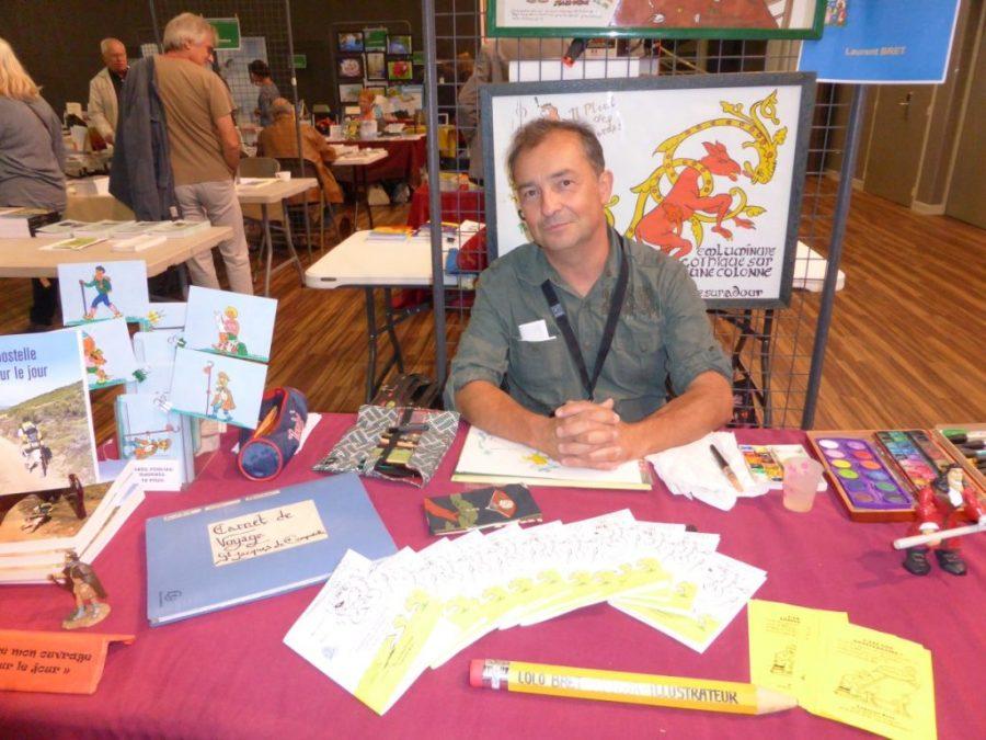 5ème Salon des Auteurs de Chatuzanges le Goubet - Laurent Bret