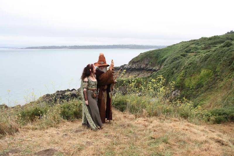 Aventuriales 2016 côté visiteur - Faylinn et Merlin