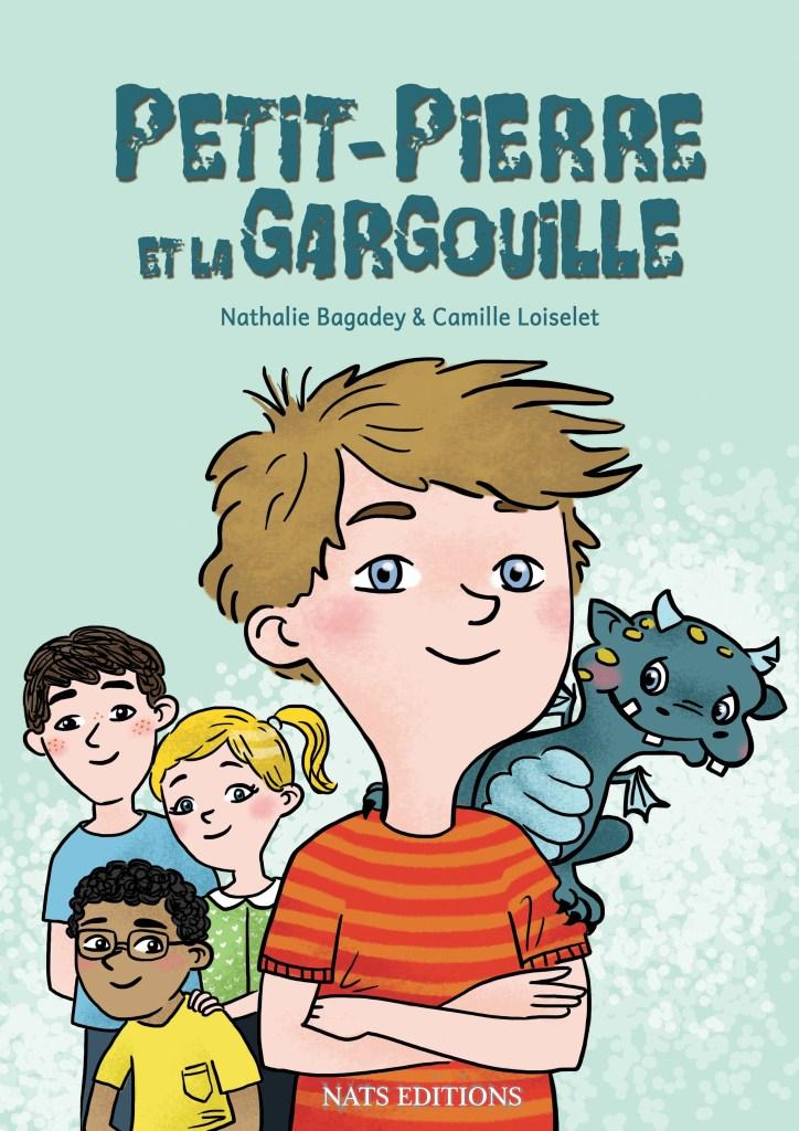 """Couverture """"Petit-Pierre et la gargouille"""""""