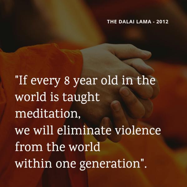 Réenchanter le monde - quote Dalai lama