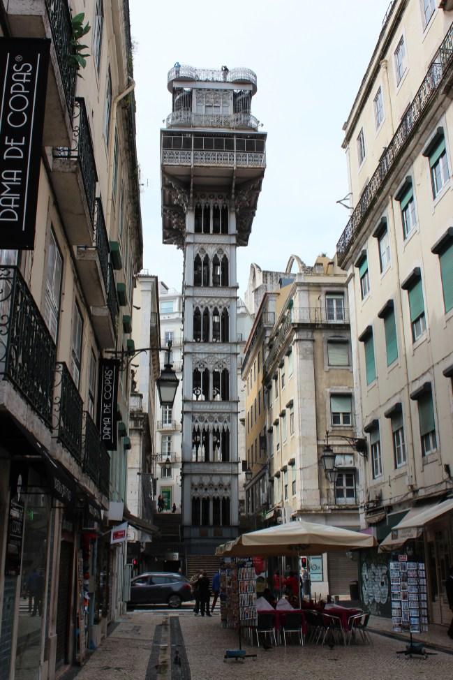 l'ascenseur de Santa Luzia