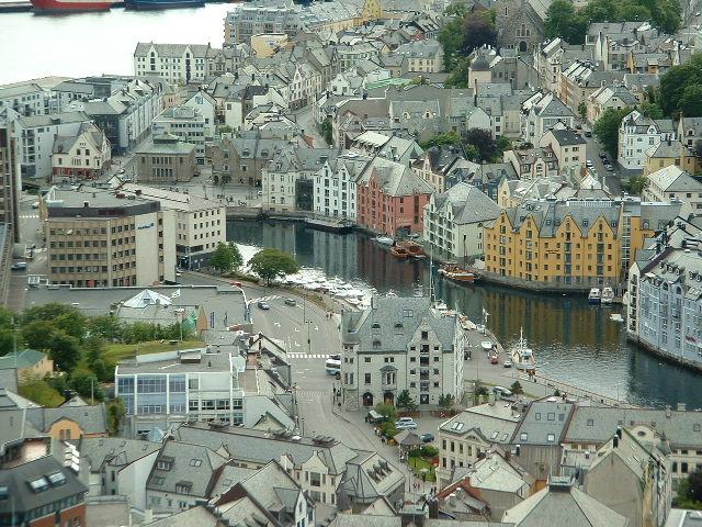 La Norvège en camping-car en 2004
