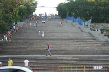 Les fameux escaliers d'Odessa