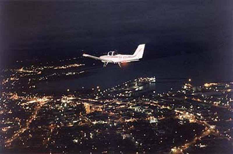 Vol de nuit…