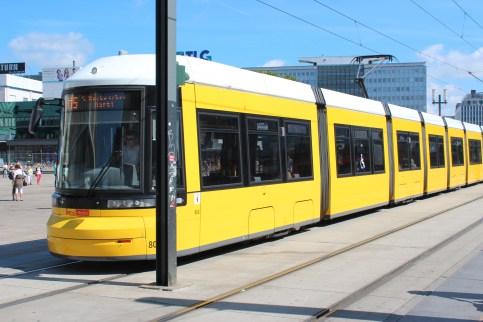 Le tram de Berlin