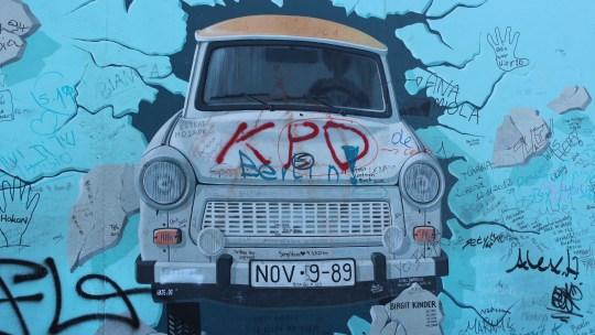 Le Mur et Check point Charlie…Berlin, 20 juillet 2013
