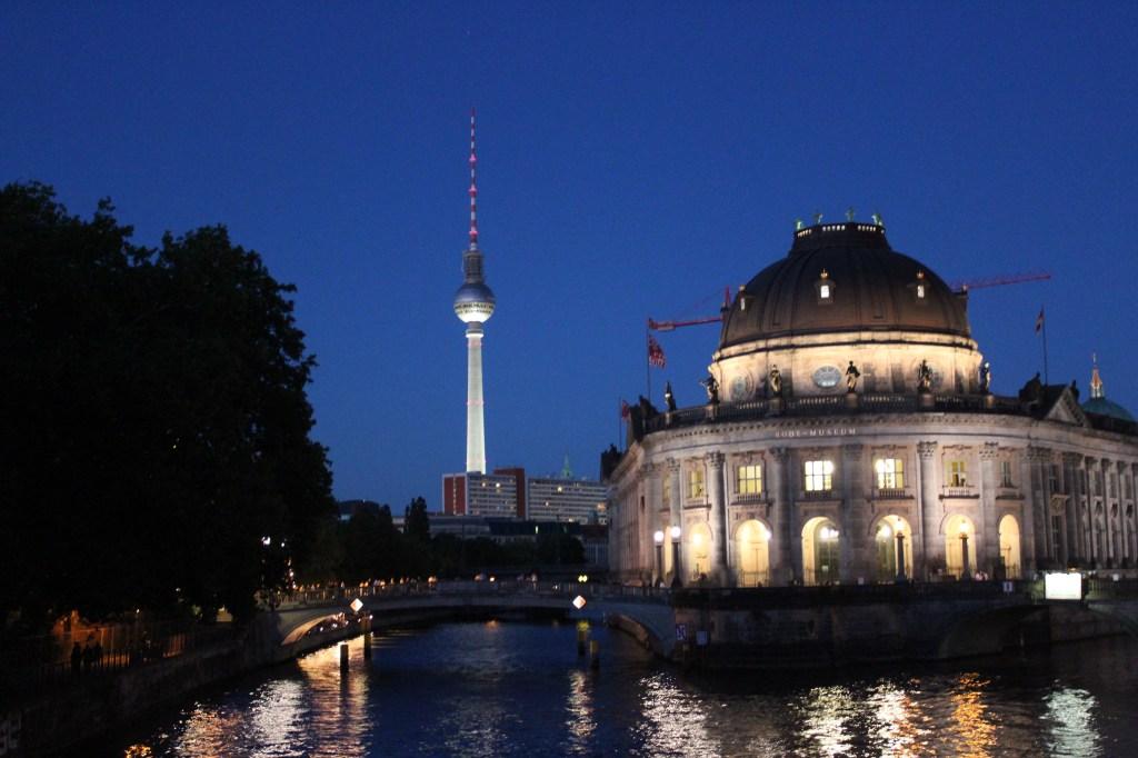 Berlin la nuit c'est joli également
