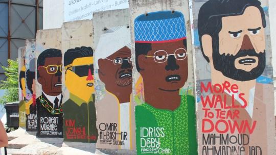Le Mur de Berlin…quelques images
