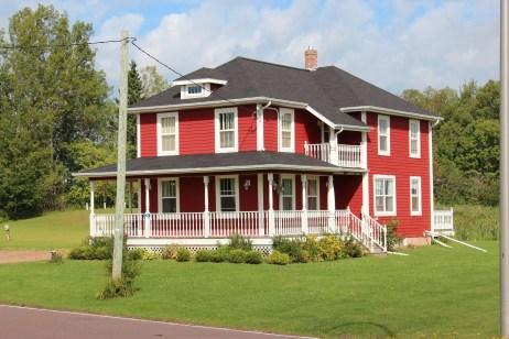 que de belles maisons sur PEI