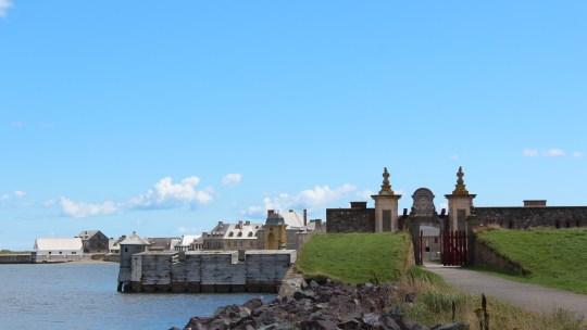 Louisbourg…éternel combat entre Français et Anglais!!…6 septembre 2013
