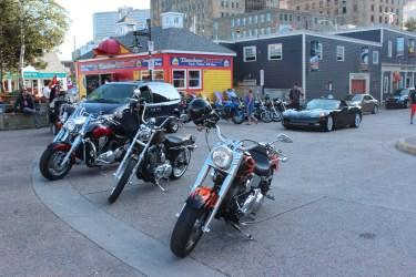 Des Harley, il y en a partout