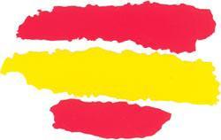 Drapeau-espagnol-tracé---Autocollant