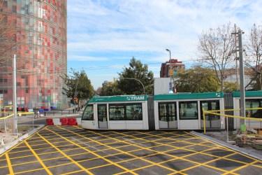 Le Tram de Barcelone