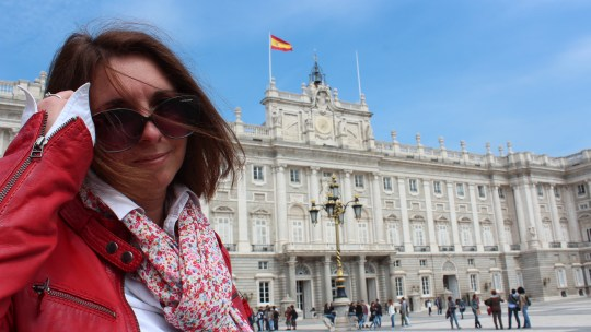 La Plaza Mayor et le Palacio Real, Madrid