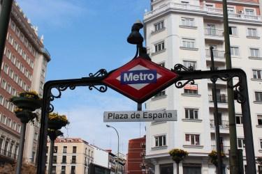 le métro de Madrid nous a plu