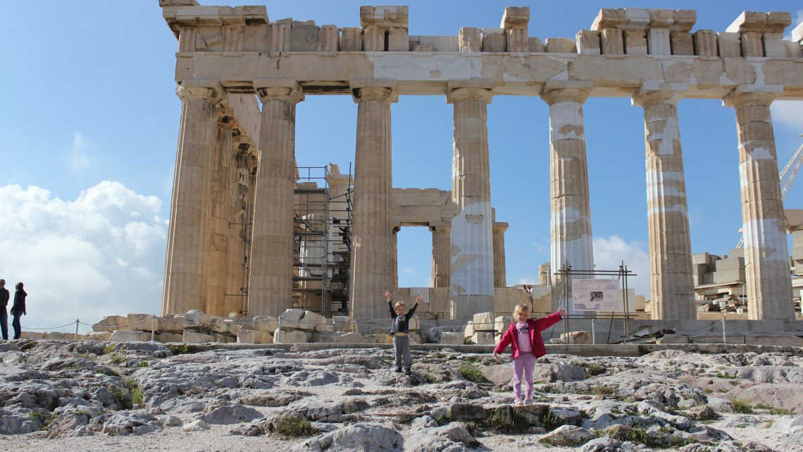 Juliette, Victoria, Anne et Timothée en guests à Athènes…27 avril au 2 mai 2014