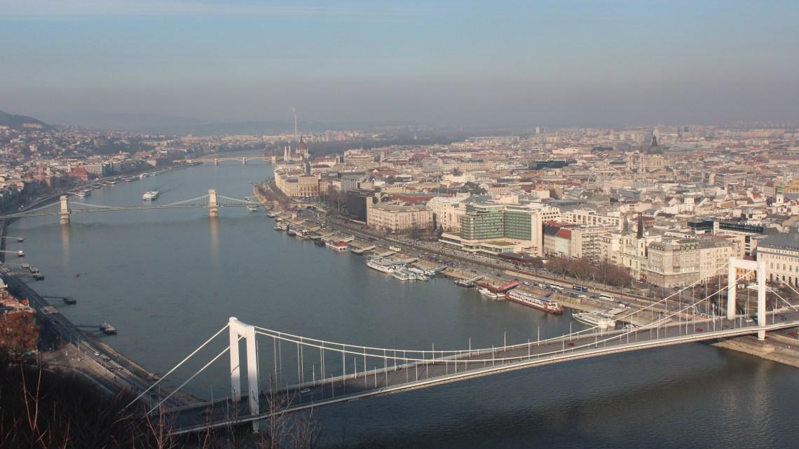 Du coté de Buda…Budapest le 31 décembre 2014